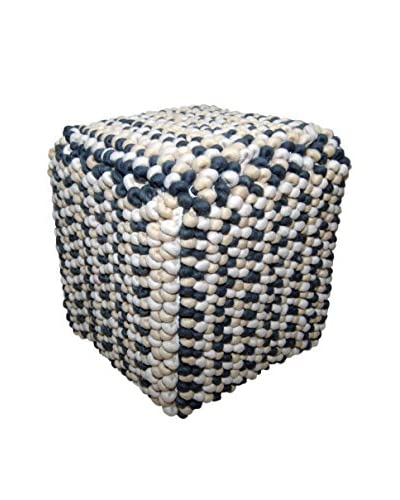 Foreign Affairs Willa Pouf, Off-White