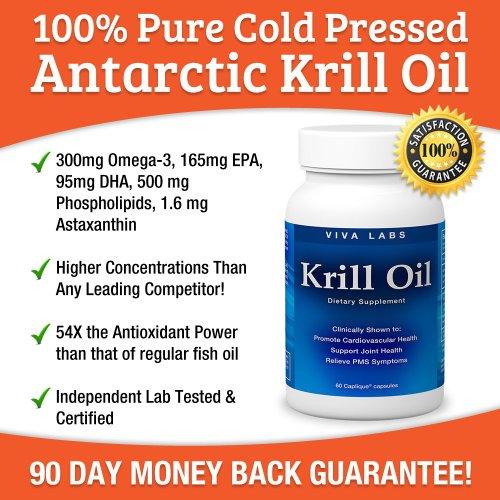 Viva labs krill oil formerly everest nutrition 100 for Is krill oil better than fish oil