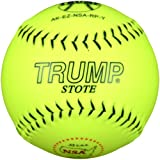 Trump® AK-EZ-NSA-RP-Y AK-EZ Series 12 Inch 52/275 NSA Synthetic Leather Softball (Sold by the DZ.)
