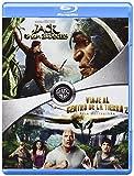 Pack: Jack. El Cazagigantes + Viaje Al Centro De La Tierra 2 [Blu-ray]