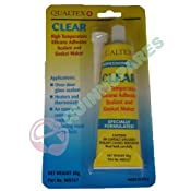Clear Silicone Adhesive Sealant & Gasket Maker For Ovens: Amazon.co.uk: Kitchen & Home