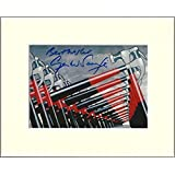 GERALD SCARFE PINK FLOYD THE WALL SIGNED AUTOGRAPH PHOTO PRINT IN MOUNT