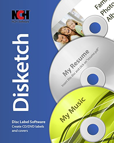 Disketch CD Label Software [Download] (Cd Label Software compare prices)