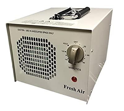 Fresh Air Commercial Air Purifier Ozone Generator w/ UV Sterlizer 4,000/mg 4g Cleaner Deodorizer Hold Function