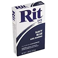 Rit Dye Powder-Navy Blue / Sold as a pack of 6