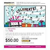 Amazon.com Gift Cards - E-mail Delivery