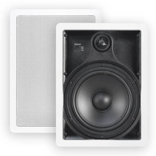 "Htd Mp-W80 Multi Purpose 8"" In-Wall Speakers (Pair)"