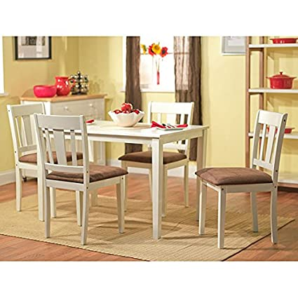 Metro Shop Stratton White 5-piece Dining Set