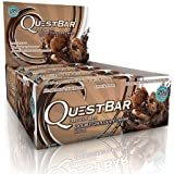 Quest Nutrition - Quest Bar Double Chocolate Chunk, (2.1 oz per bar, 12 bars )