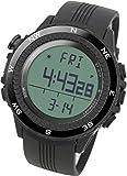 [Lad Weather] Watch Running Outdoor Digital Compass Altimeter Chronograph Weather Forecast German Sensor Outdoor Wrist Sport Watches (Climbing/ Running/ Walking/ Camping) Men's
