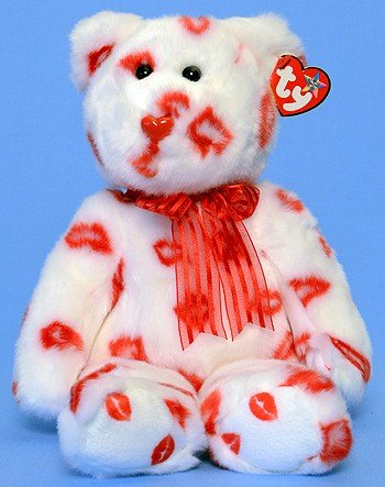 Ty Beanie Buddies Smooch - Bear - 1
