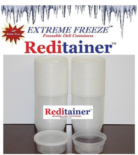 Extreme Freeze Reditainer 8 oz. Freezeable Deli