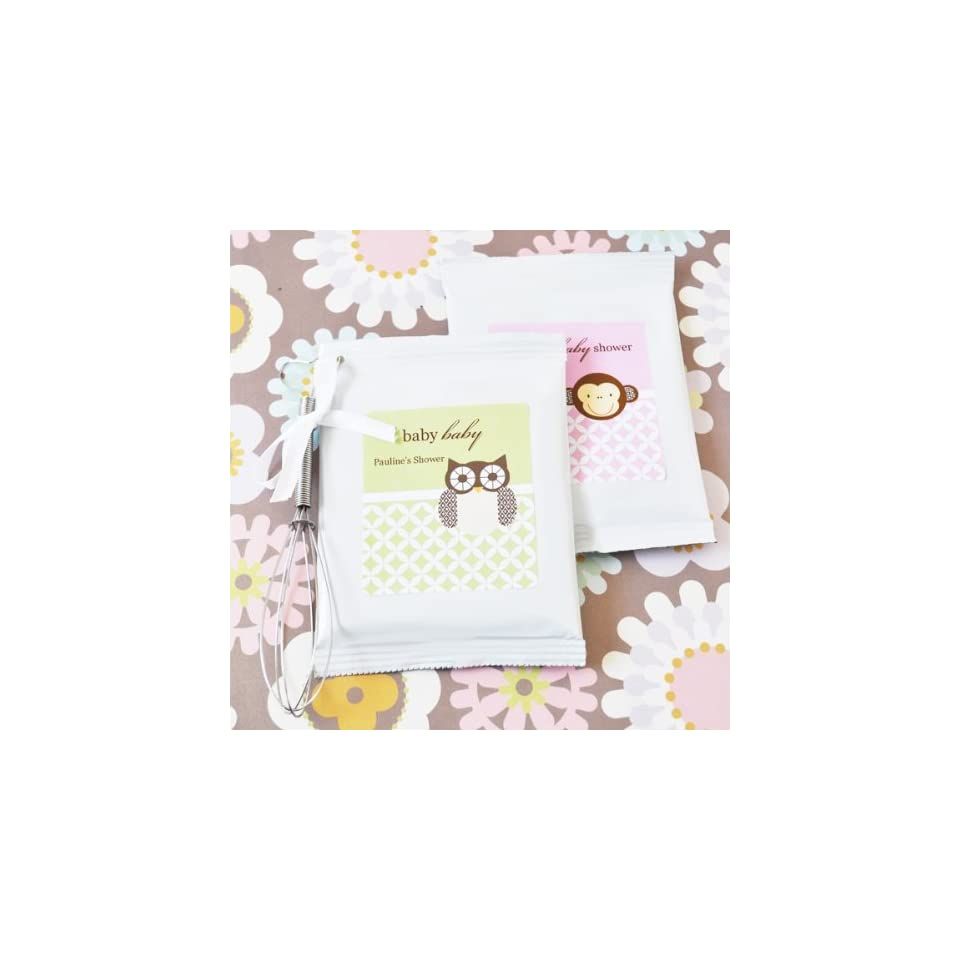 Wedding Favors Baby Animals Personalized Hot Apple Cider