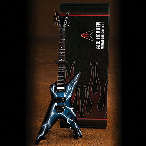 Dimebag Darrell Lightning Bolt Signature Model Miniature Guitar Replica Collectible [Dimebag Darrell] (Tapa Blanda)
