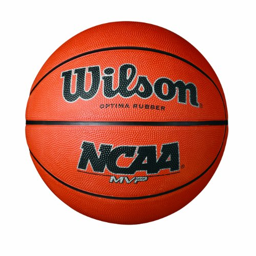 Wilson NCAA MVP Rubber Basketball 0026388467747