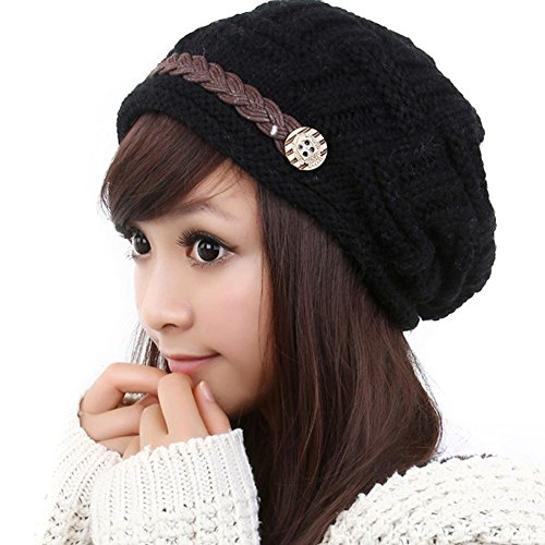 TININNA Winter Warm Knitted Knit Slouch Crochet