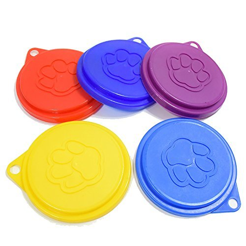 CreaTionÃ'Â Durable Silicone Pet Cat Dog Food Storage Can Cover Lid Top by Creation (Silicone Can Lid compare prices)
