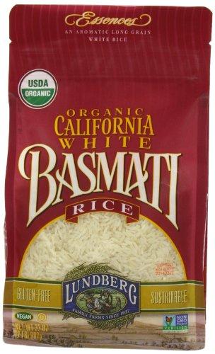 Lundberg Organic California White Basmati Rice, 32 Ounce