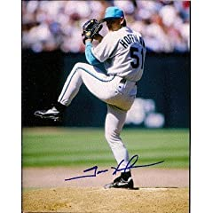 Autographed Hand Signed 8x10 Photo Trevor Hoffman Florida Marlins