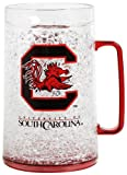 NCAA South Carolina Gamecocks Monster Freezer Mug - 36 Ounce 4 Pack
