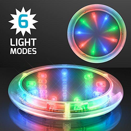 Infinity Tunnel LED Coasters (Set of 4)