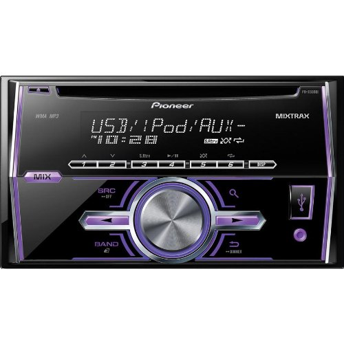 Pioneer Double Din In-Dash Car Cd Stereo Receiver With Am/Fm Tuner, Matrix Dj Inspired Technology, Plays Cds, Cd-Rs, And Cd-Rws, Mp3'S, Front Usb Port, Variable Color Illumination, Remote Control Included