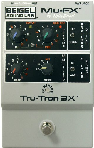 Mu-Fx Tru-Tron 3X Envelope Controlled Filter