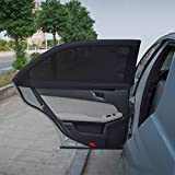 TFY Universal Side Window Sunshade - Fits All Car Models - 2 Piece