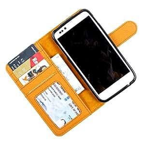 For Nokia Asha 500 / 500 Dual sim - PU Leather Wallet Flip Case Cover