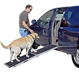 6 ft. Lightweight Extra Wide Folding Aluminum Pet Ramp