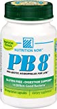 Now PB 8 Pro-Biotic Acidophilus Capsules, Vegetarian, 60 Count