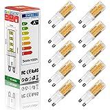 Swees® 10 x Ampoule G9 5W LED (équivalent à 40 W), blanc chaud, AC220-240V, SMD2835 51 Ampoules, angle de 360 ° de diffusion