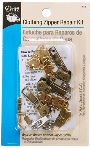 For Sale! Dritz Zipper Repair Kit-Clothing
