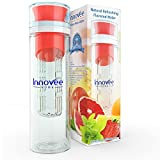 Innovee Infusion Water Bottle - Premium Quality BPA Free Infuser Bottle - 24 Oz - 3 Colors - TRITAN Material That...