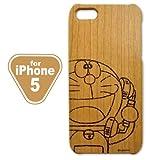 Woodケース iPhone5 (ドラえもん 電話)