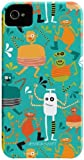 Case-Mate Barely There Jessica Swift Designer Case for Apple iPhone 4/4S - Monsters