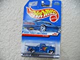 Hot Wheels 40 Ford #654 1998 First Editions #20 Dark Blue With Chrome China Base By Hot Wheels