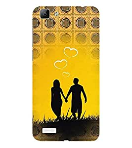 ifasho Boy Holding girls Hand Back Case Cover for VIVO Y53