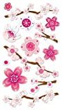 Sticko Vellum Stickers, Cherry Blossom