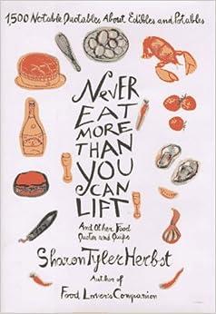 and Potables: Sharon Tyler Herbst: 9780553069013: Amazon.com: Books