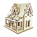 Doll House DIY Plywood Kit - Attic House 1 ★Made in Korea
