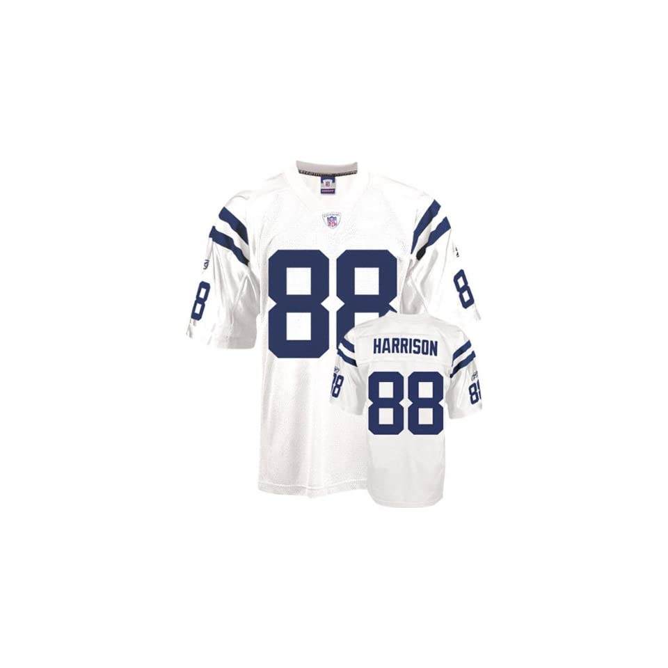 Marvin Harrison #88 Indianapolis Colts NFL Replica Player Jersey By Reebok (White)