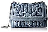 インディゴブルー レディース ショルダーバッグ DENIM BRAID WAYNNE - shoulder bag X04292P1068 H1940 UNI