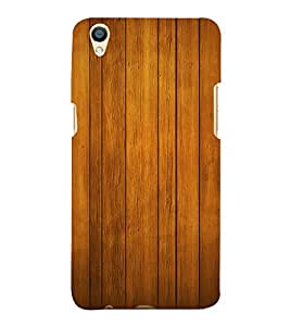 Beautiful Wood Design Cute Fashion 3D Hard Polycarbonate Designer Back Case Cover for Oppo F1 Plus