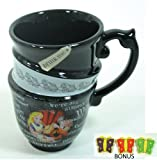Disney Parks Alice in Wonderland mug - Disney Parks Exclusive & Limited Availability BONUS Butterfly erasers (3) included