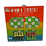Adraxx Wooden Chess, Ludo And Snake& Ladder Game Set Toy