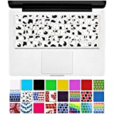 "DHZ® Unique Ultra Thin Durable Keyboard Cover Silicone Skin for MacBook Pro 13"" 15"" 17"" (with or w/out Retina Display) iMac and MacBook Air 13"" (Cow)"