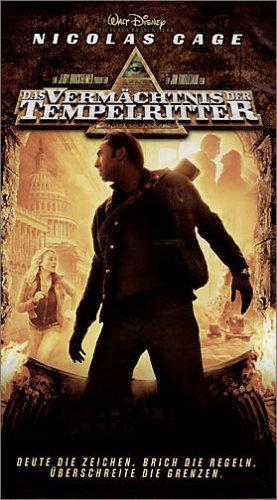 Das Vermächtnis der Tempelritter [VHS]
