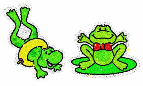 Carson Dellosa Frogs Dazzle Stickers (2908)