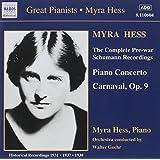 Myra Hess Plays Complete Pre-War Schumann Recordings